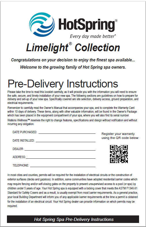 Limelight Pre-Delivery Picture
